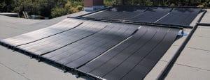 AFC Plumbing & Solar pool roof solar installation