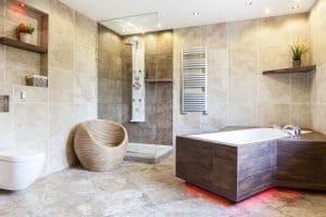 High quality bathroom plumbing and renovation