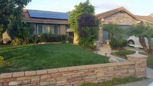 Residential solar power installation Camarillo, California CA