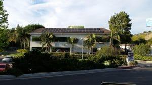 Calabasas California business solar panel installation