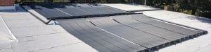 Oak View residential pool solar energy installation